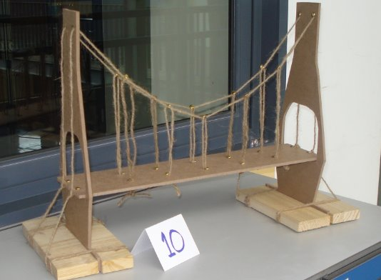 Grade 10 Students Compete In Bridge Project The Flame