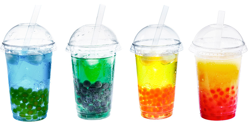 Chinese Bubble Tea Drink