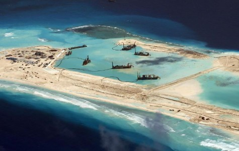 The Chinese Island Construction Incites Naval Tension
