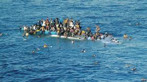 Boat With Refugees