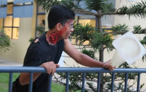 "Zombies Take Over UNIS in the Senate's Second Annual ""Zombie Run"""