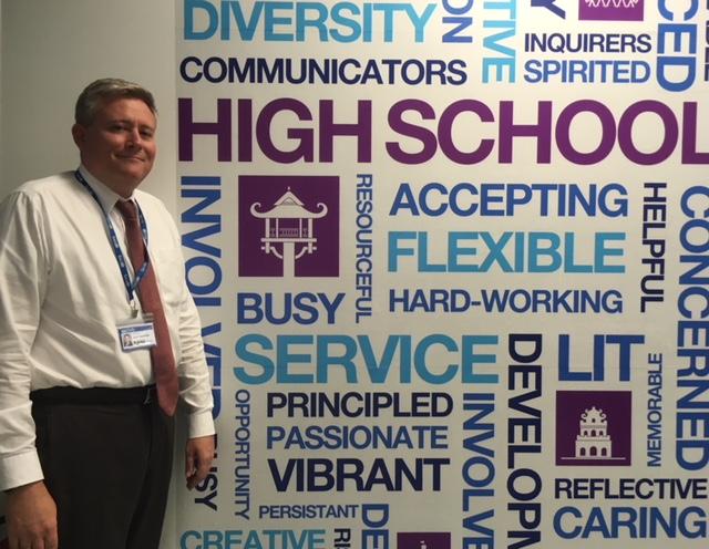 Teacher Talks: Scott Schaffner, High School Principal