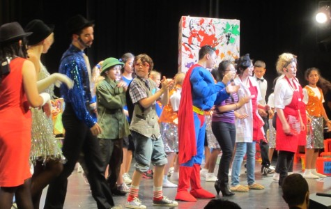 Superman musical a heroic production on and off stage
