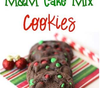 Mia's Food Corner: Christmas Cookies Cake Mix