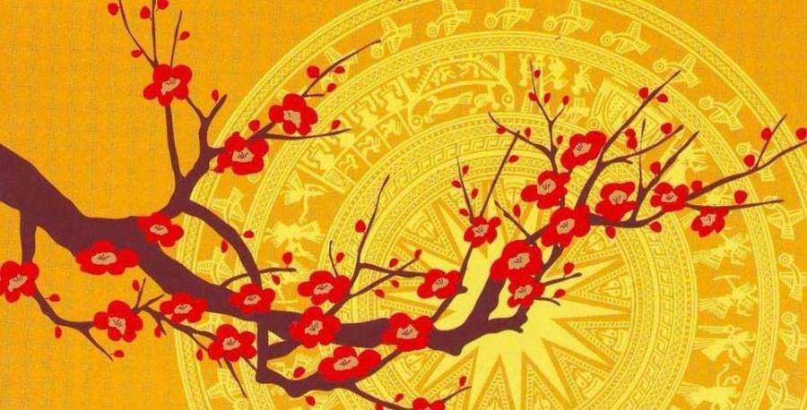 новогодние открытки вьетнама достаточно мощное