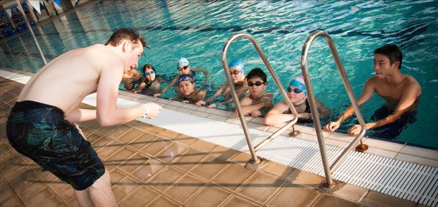 A Teaching Opportunity Provided by Swim For Life