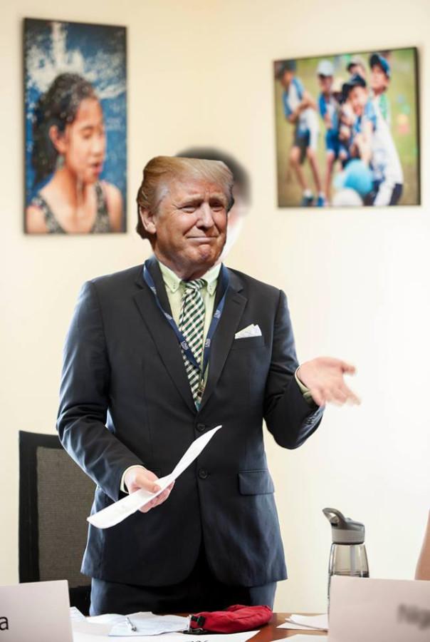 Donald Trump at UNIS Hanoi