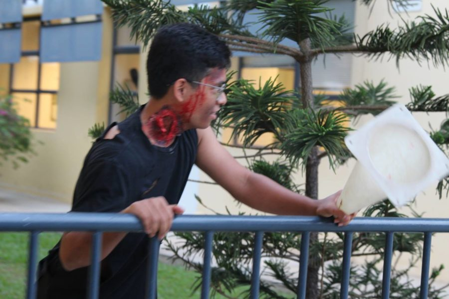 Zombies Take Over UNIS in the Senate's Second Annual