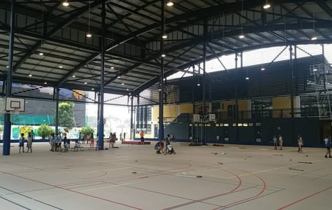 Five-Year Construction Plan: Basketball Court Completed