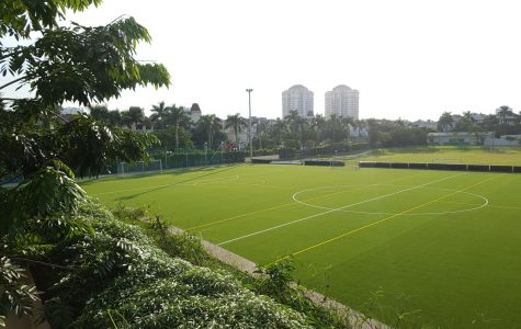 Kickin' it! New Field is Unveiled in Preparation for APAC Football