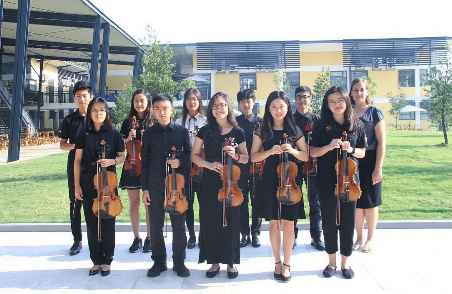 Both Divisions of the APAC Orchestra Perform Together for the First Time in History