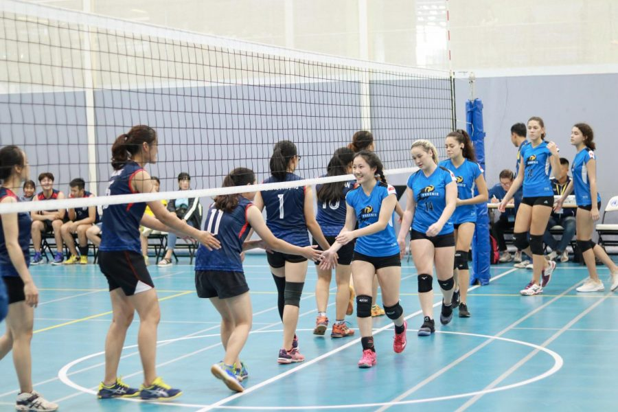 Last year's girl's volleyball team